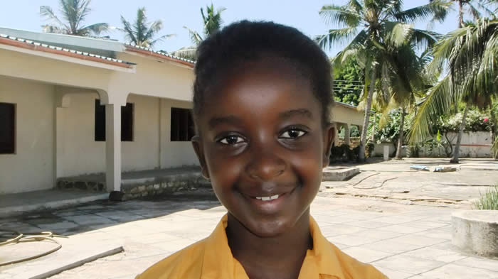Wilkins Solicitors LLP's sponsored child in Kenya, Samantha