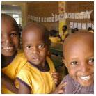 Children at Tumaini Timbwani School near Mombasa